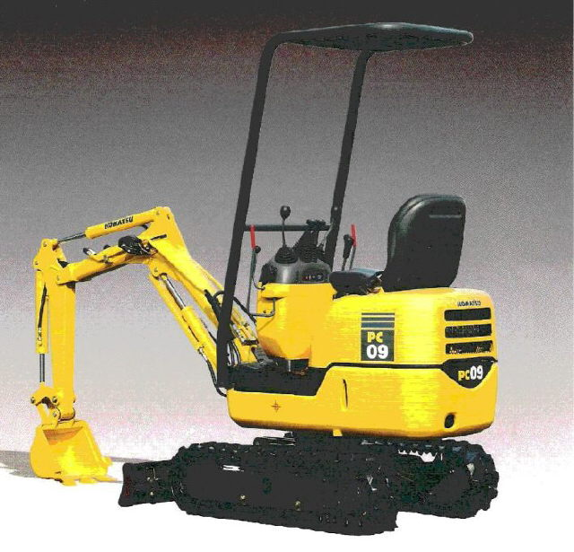 Where to find Excavator, Komatsu Mini PC09 in Santa Fe Springs