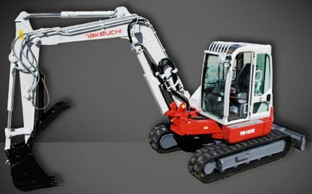 Where to find Excavator, Takeuchi TB180, TB280 in Santa Fe Springs