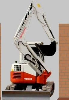 Where to find Excavator, Takeuchi TB138 in Santa Fe Springs