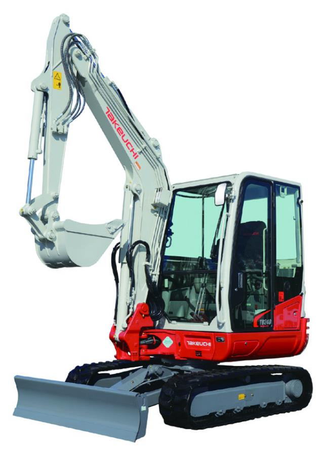 Where to find Excavator, Takeuchi TB235  TB240 in Santa Fe Springs
