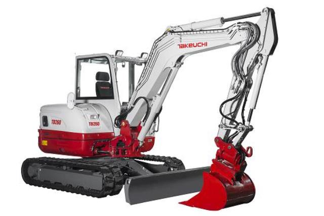 Where to find Excavator, Takeuchi TB260 in Santa Fe Springs