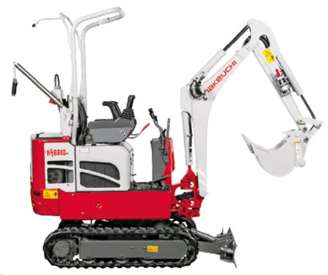 Where to find Excavator, Takeuchi TB216RH - Hybrid in Santa Fe Springs