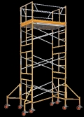 Rental store for Scaffold Tower, 5Wx20Hx10L  C in Santa Fe Springs CA