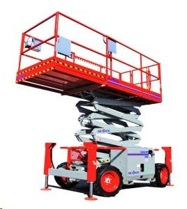 Rent Scissor Lifts - All Terrain