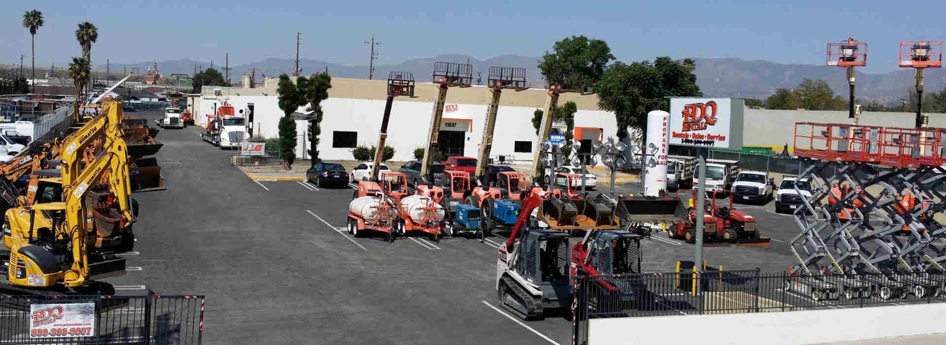 Rent Construction Equipment & Tools in Southern California